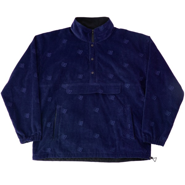 Bronze 56K All Over Embroidered Anorak (Navy)