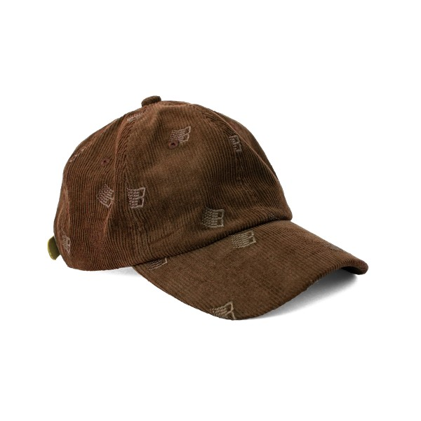 Bronze 56K All Over Embroidered Cap (Brown)
