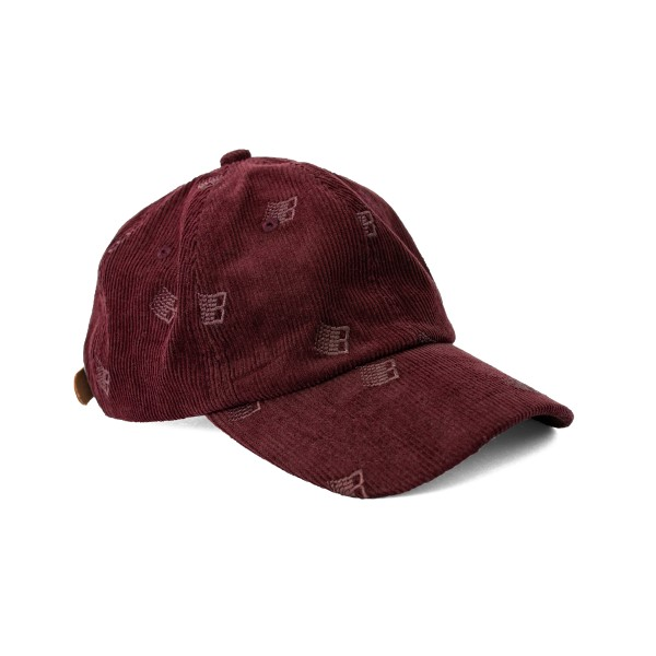 Bronze 56K All Over Embroidered Cap (Maroon)