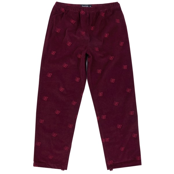 Bronze 56K All Over Embroidered Pant (Maroon)