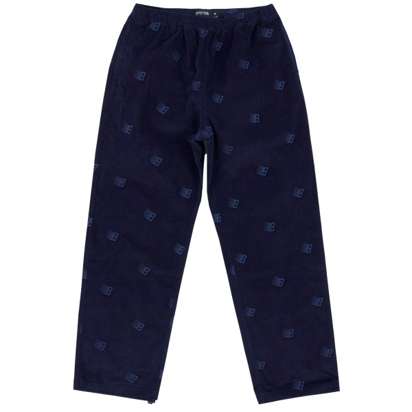 Bronze 56K All Over Embroidered Pant (Navy)