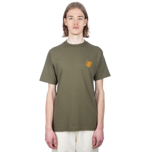 Bronze 56k Classic Logo T-Shirt (Forest Green)