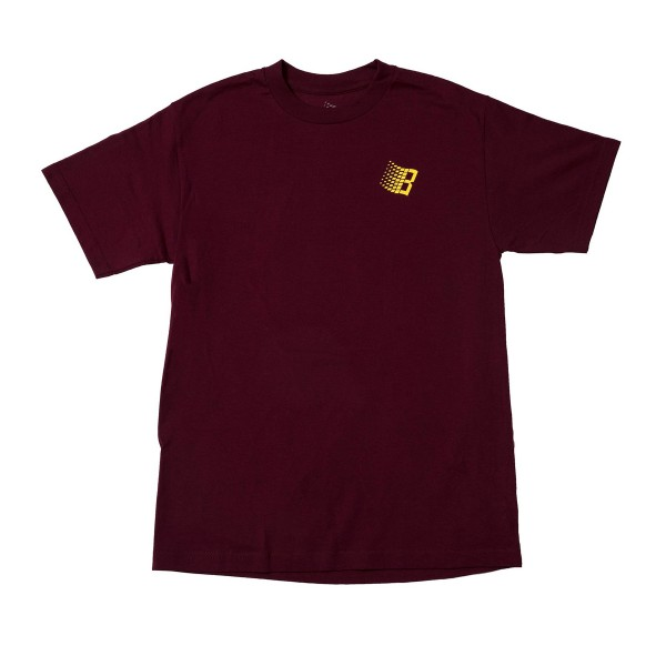 Bronze 56k International T-Shirt (Burgundy)