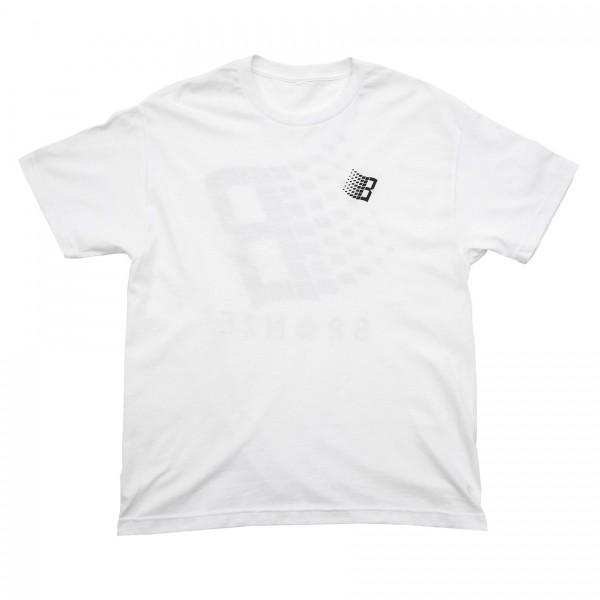 Bronze 56k Smiley B Logo T-Shirt (White)