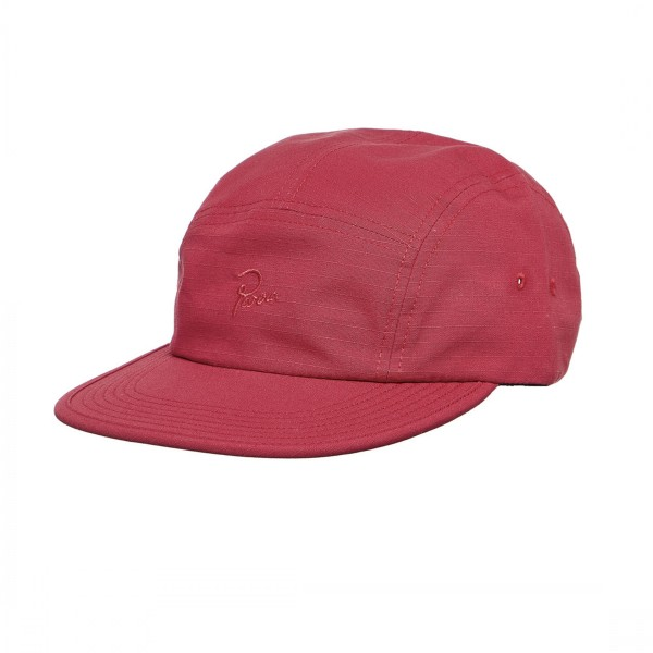 by Parra Signature 5 Panel Cap (Red Ripstop)