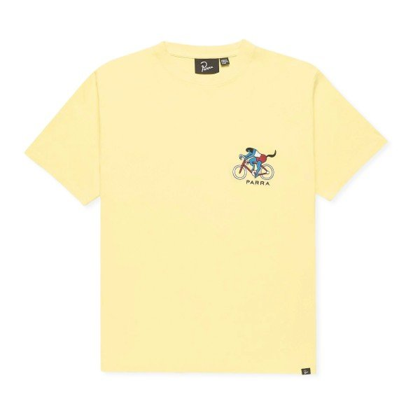 by Parra The Chase T-Shirt (Yellow)