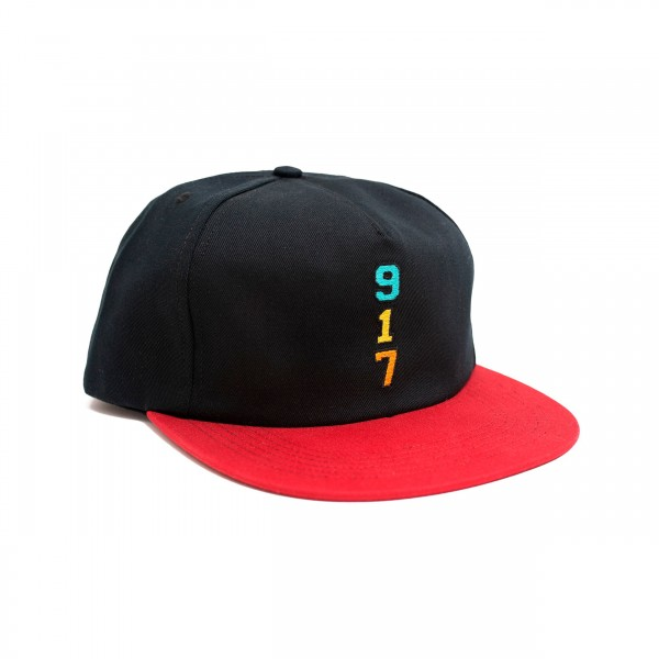 Call Me 917 Genny's 917 Cap (Black/Red)