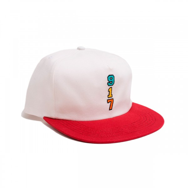 Call Me 917 Genny's 917 Cap (White/Red)