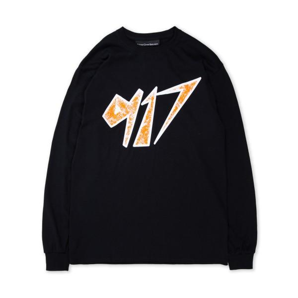 Call Me 917 Space Long Sleeve T-Shirt (Black)