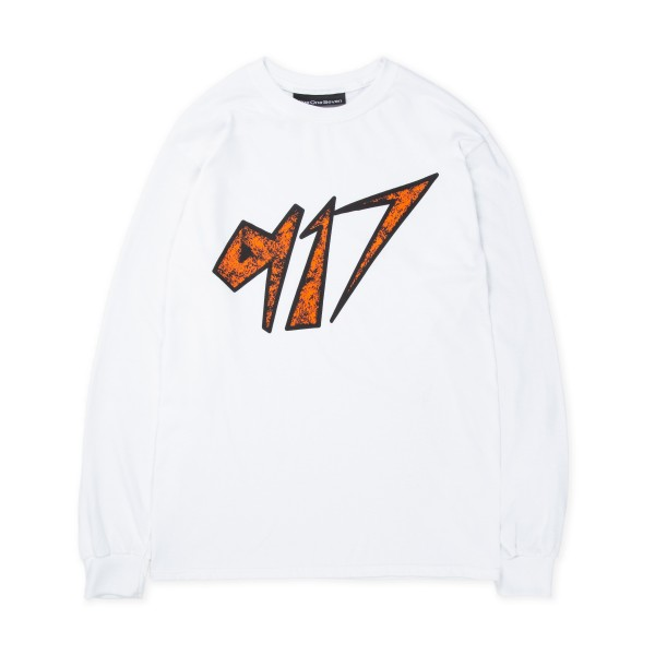 Call Me 917 Space Long Sleeve T-Shirt (White)