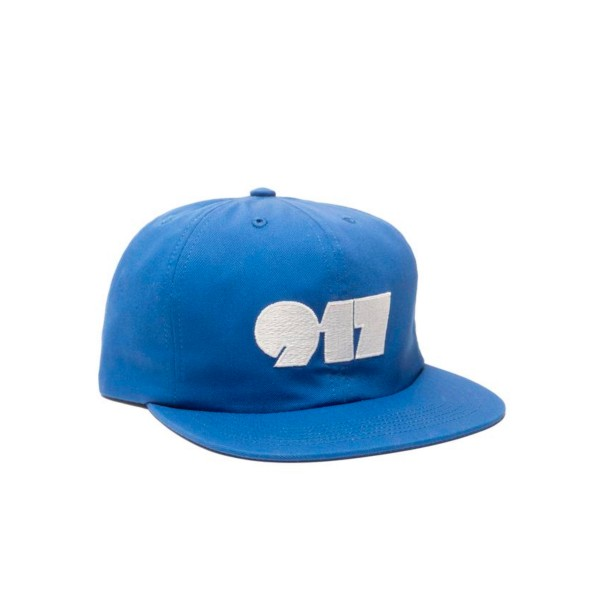 Call Me 917 Typography Cap (Navy)