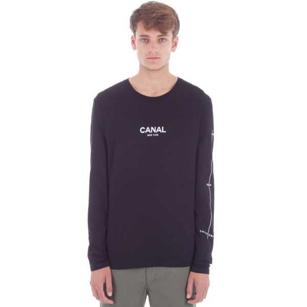 Canal Film Festival Long Sleeve T-Shirt (Black)