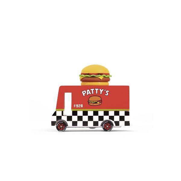 Candylab Toys Hamburger Van