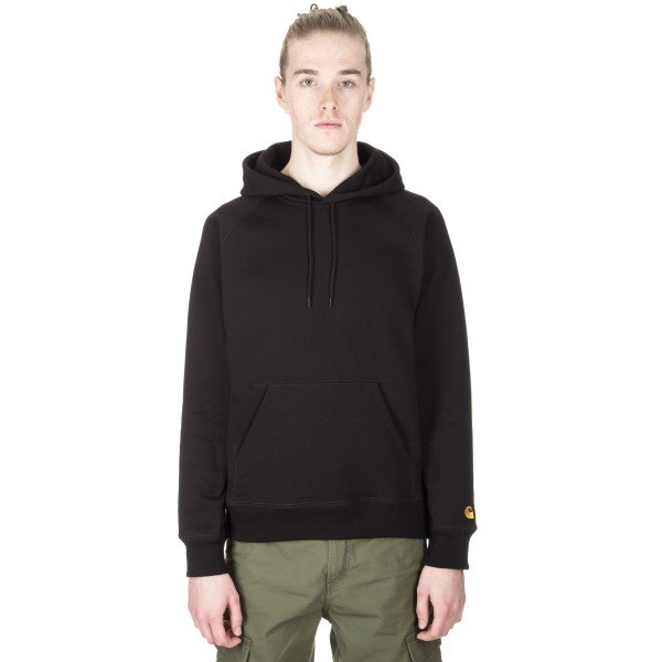Carhartt Chase Pullover Hooded Sweatshirt (Black)