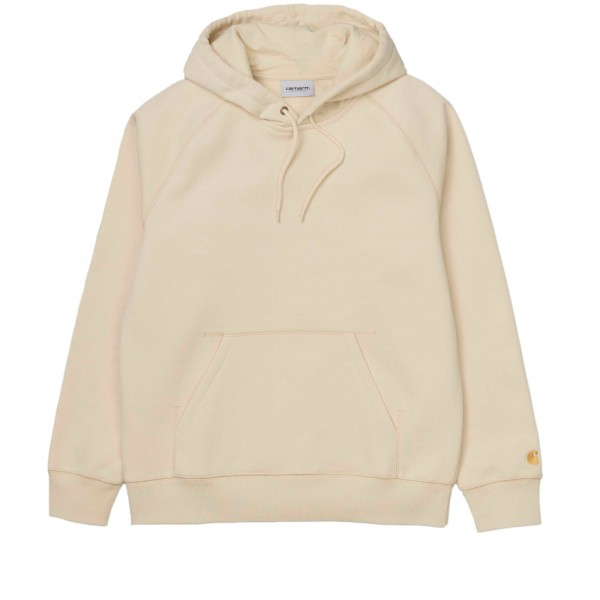 Carhartt Chase Pullover Hooded Sweatshirt (Flour/Gold)
