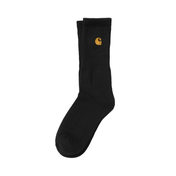 Carhartt WIP Chase Socks (Black/Gold)