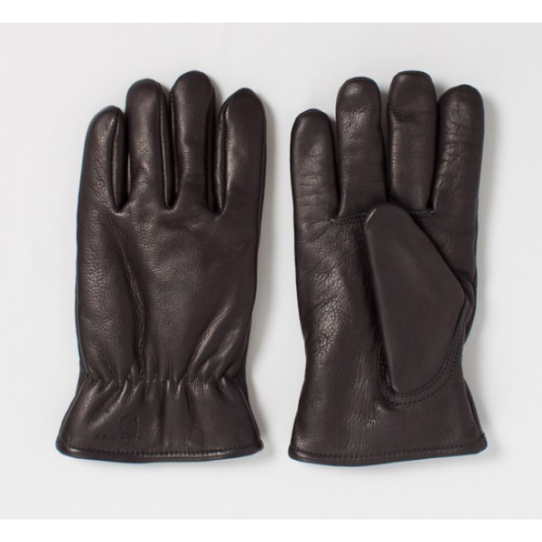 Carhartt Lined Leather Gloves (Black)
