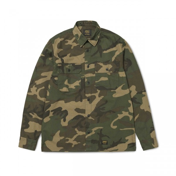 Carhartt Mission Long Sleeve Shirt (Camo Laurel)