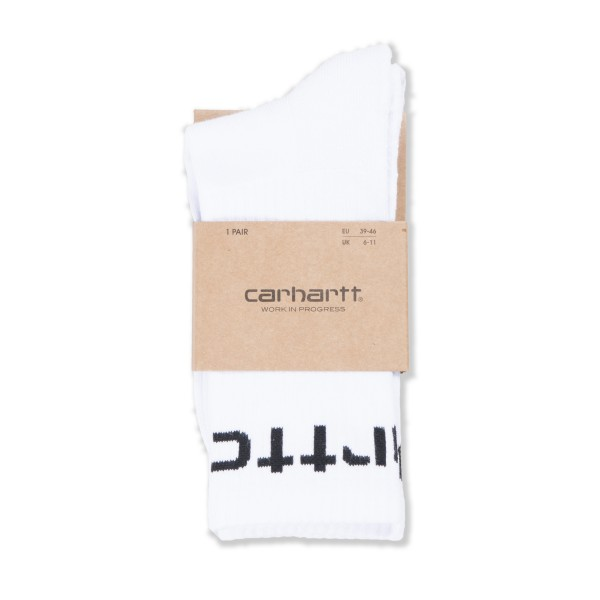 Carhartt WIP Socks (White/Black)