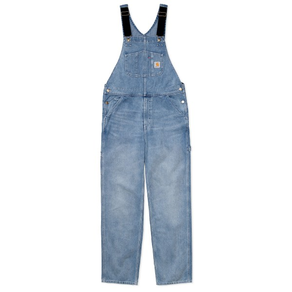 Carhartt WIP Bib Overall (Blue Light Used Wash Denim)