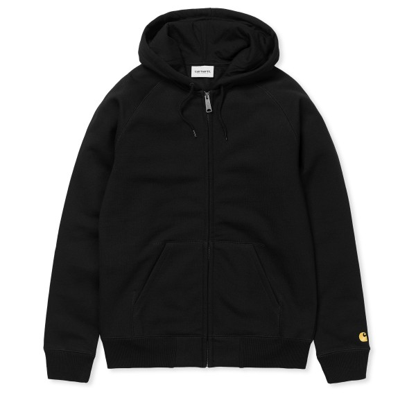 Carhartt WIP Chase Hooded Jacket (Black/Gold)