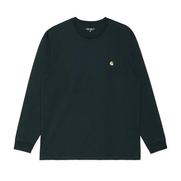 Carhartt WIP Chase Long Sleeve T-Shirt (Fraiser/Gold)