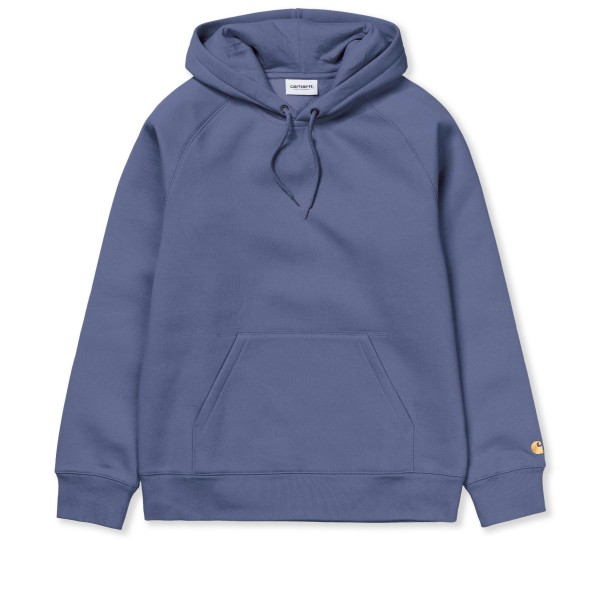 Carhartt WIP Chase Pullover Hooded Sweatshirt (Cold Viola/Gold)