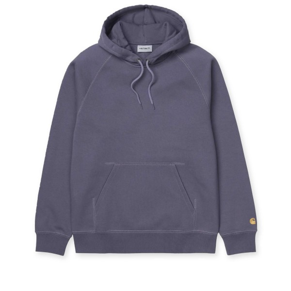 Carhartt WIP Chase Pullover Hooded Sweatshirt (Provence/Gold)