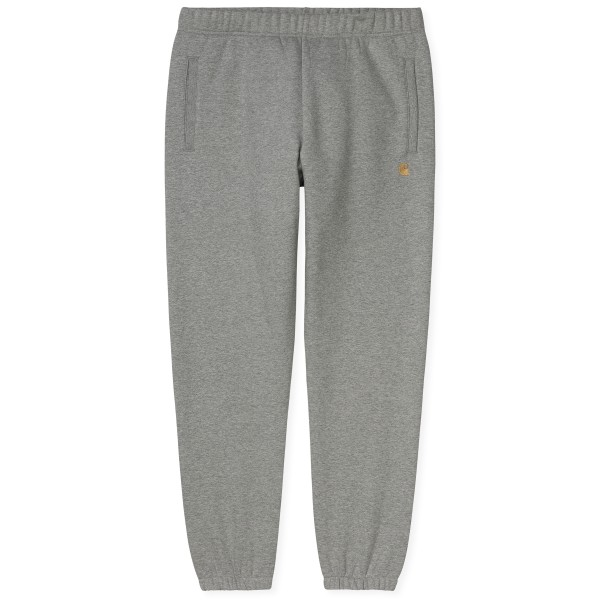 Carhartt WIP Chase Sweat Pant (Grey Heather/Gold)