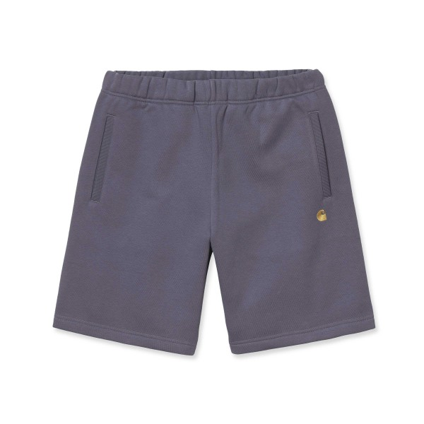 Carhartt WIP Chase Sweat Short (Provence/Gold)