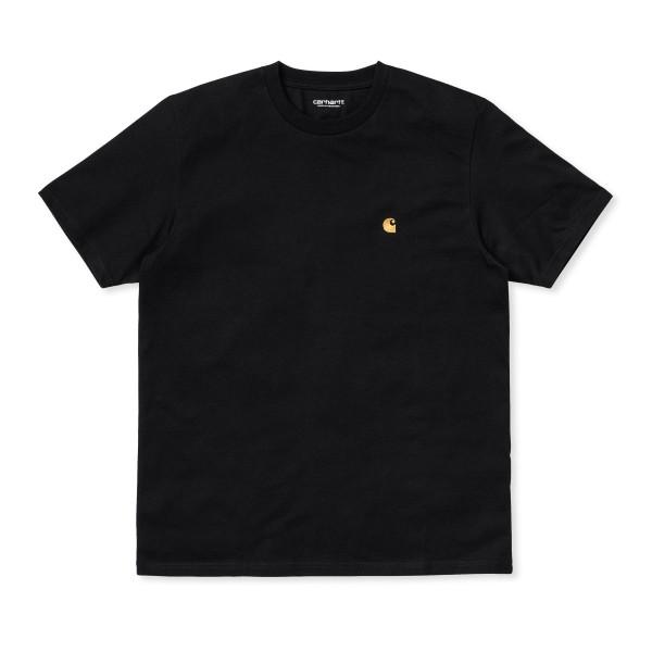 Carhartt WIP Chase T-Shirt (Black/Gold)