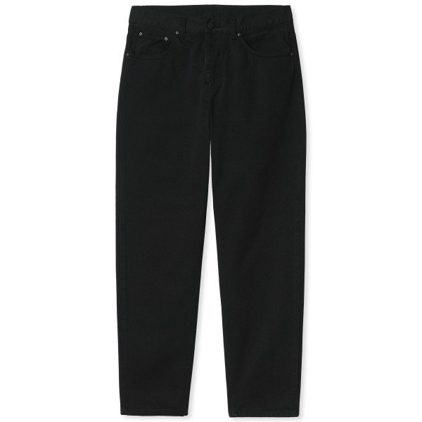 Carhartt WIP Newel Pant (Black Garment Dyed)