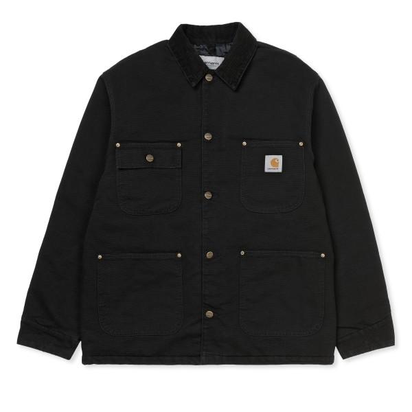 Carhartt WIP OG Chore Coat (Black/Black Aged Canvas)