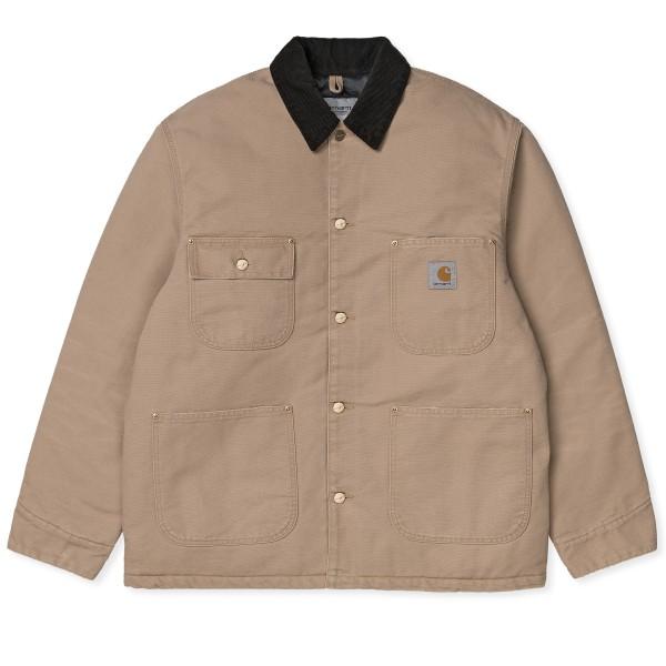 Carhartt WIP OG Chore Coat (Dusty Hamilton Brown/Black Aged Canvas)