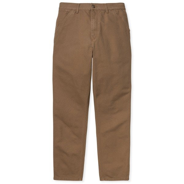 Carhartt WIP Single Knee Pant (Hamilton Brown Rinsed)