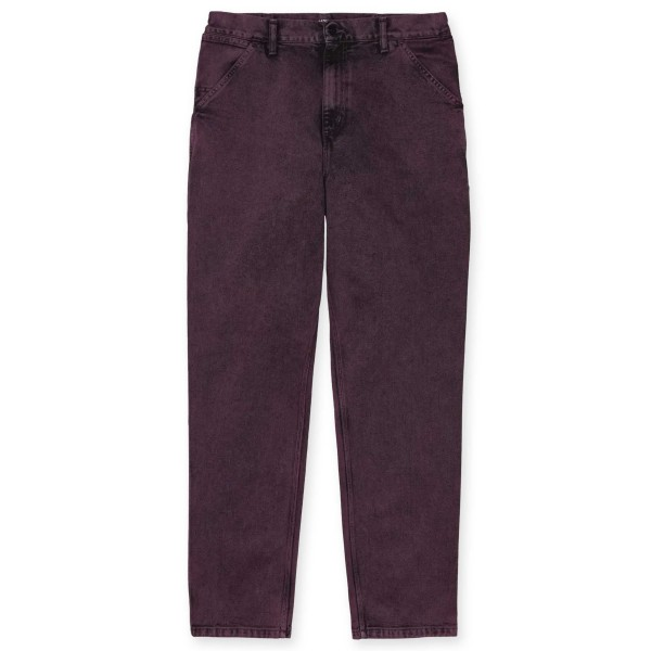 Carhartt WIP Single Knee Pant (Shiraz Crater Wash)
