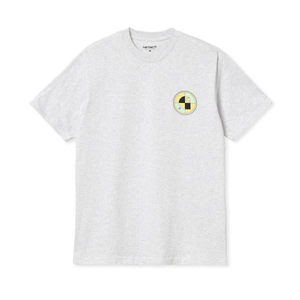 Carhartt WIP Test T-Shirt (Ash Heather)