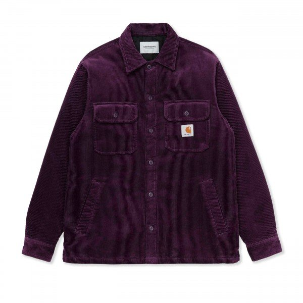 Carhartt WIP Whitsome Corduroy Shirt Jacket (Boysenberry)