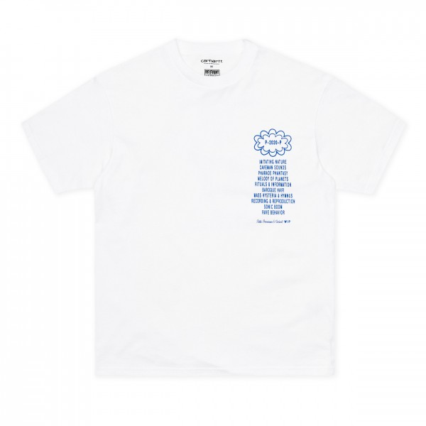 Carhartt WIP x Relevant Parties x Public Possession T-Shirt (White/Blue)