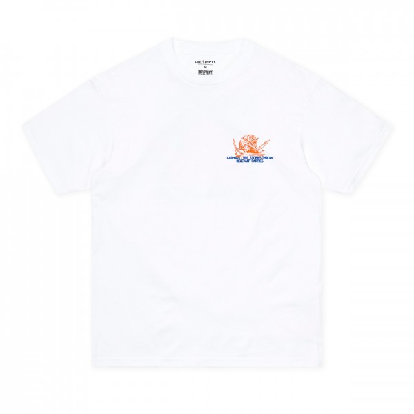 Carhartt WIP x Relevant Parties x Stones Throw T-Shirt (White)