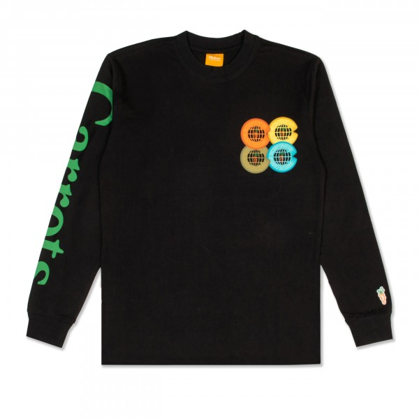 Carrots Incorporated Long Sleeve T-Shirt (Black)