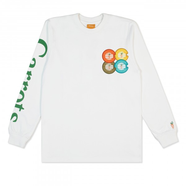 Carrots Incorporated Long Sleeve T-Shirt (White)