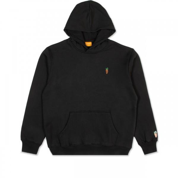 Carrots Signature Pullover Hooded Sweatshirt (Black)