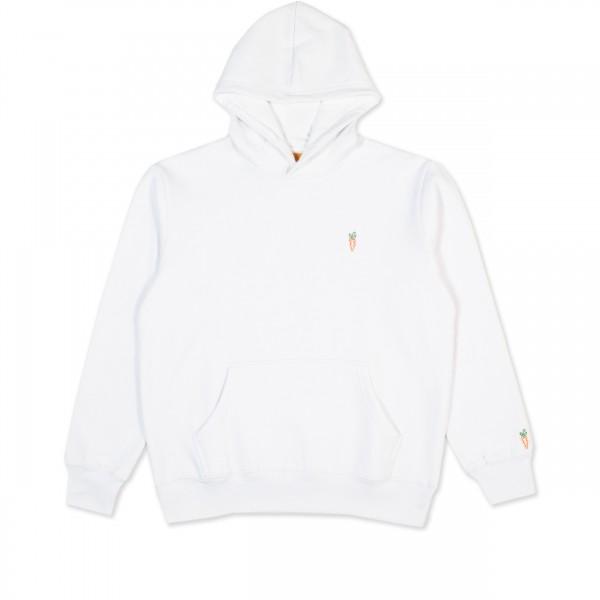 Carrots Signature Pullover Hooded Sweatshirt (White)