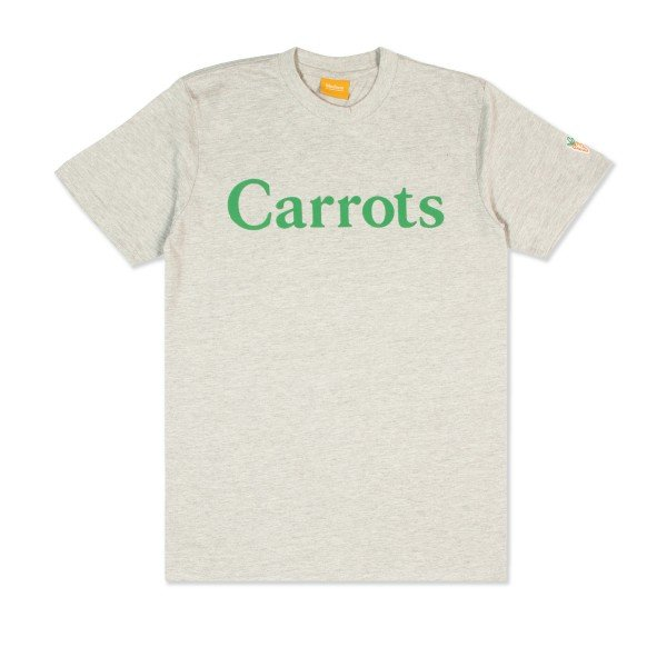 Carrots Wordmark T-Shirt (Grey)