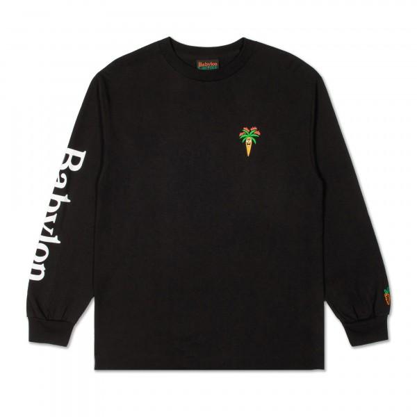 Carrots x Babylon LA Burning Long Sleeve T-Shirt (Black)