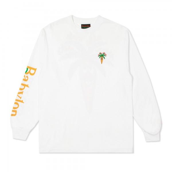 Carrots x Babylon LA Burning Long Sleeve T-Shirt (White)