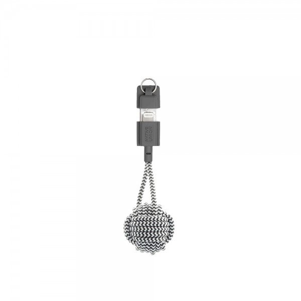 Native Union Lightning Key Cable (Zebra)