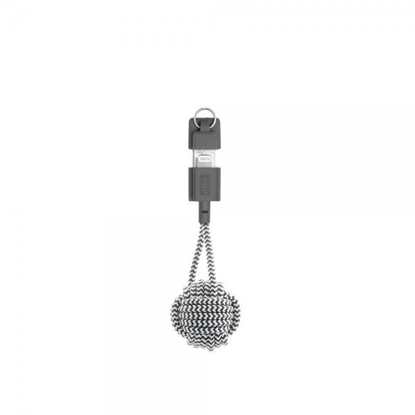 Native Union Lightning Key Cable (Zebra)