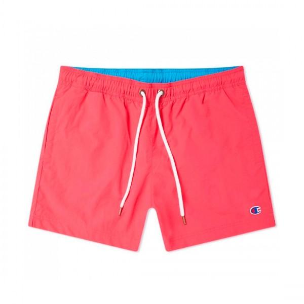 Champion Reverse Weave Beach Short (Hot Pink/Light Blue)